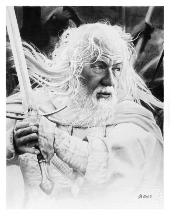 Gandalf the White by Franco Clooney