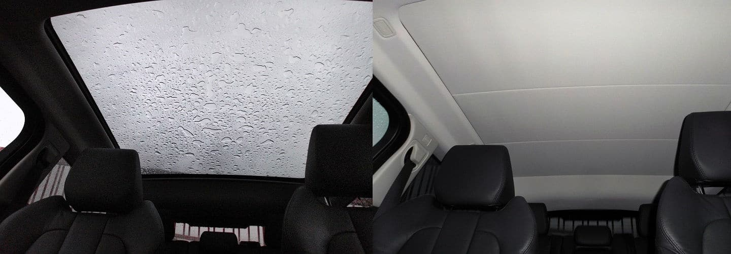 2013 Range Rover Evoque panoramic roof