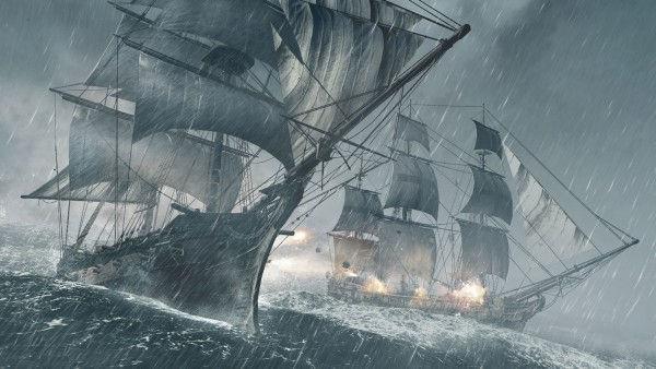 ship battle in AC4