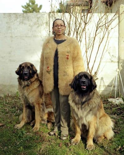 dog fur coat