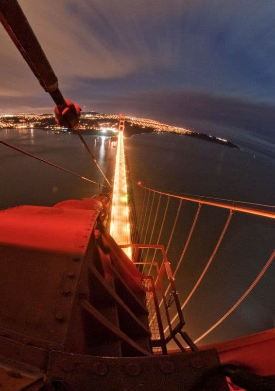 golden gate bridge urbex