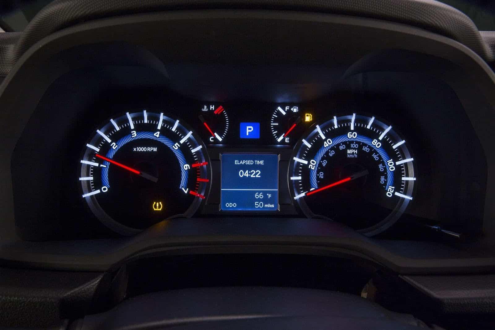 Instrument panel 2014 Toyota 4Runner