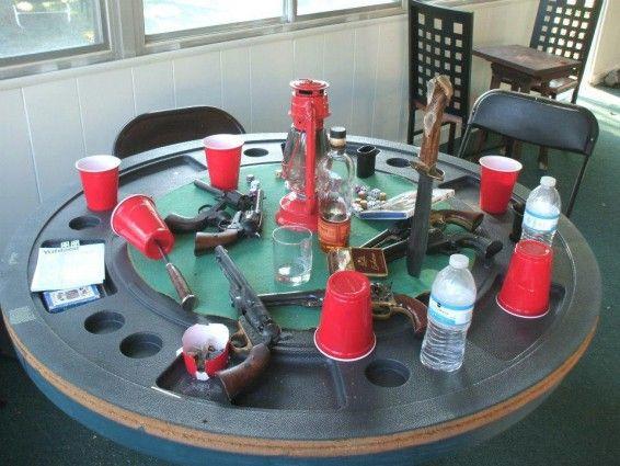 No gut shots at this table.