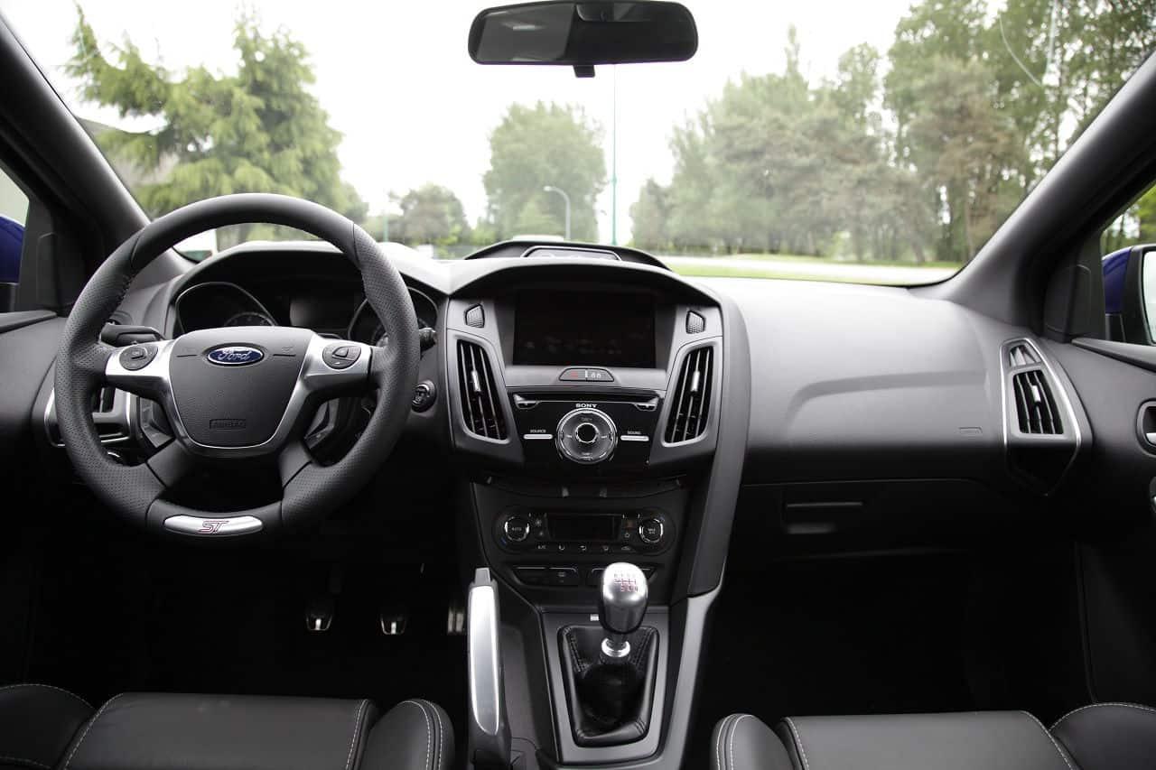 2013 Ford Focus ST interior