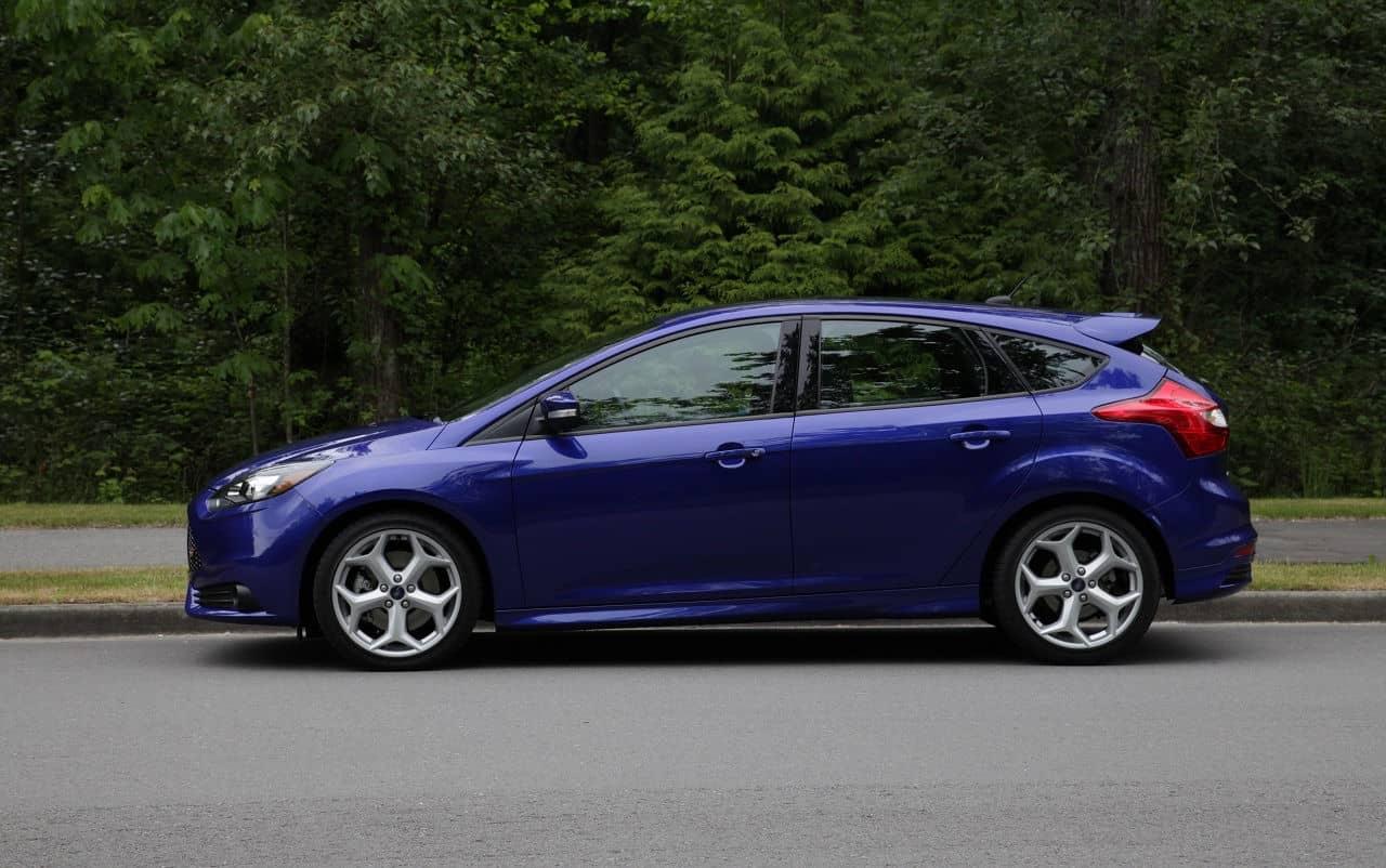 2013 Ford Focus ST Blue