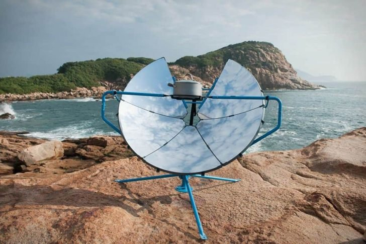 SolSource solar powered grill