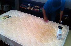 dirty mattress stain