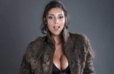 male chest hair fur coat