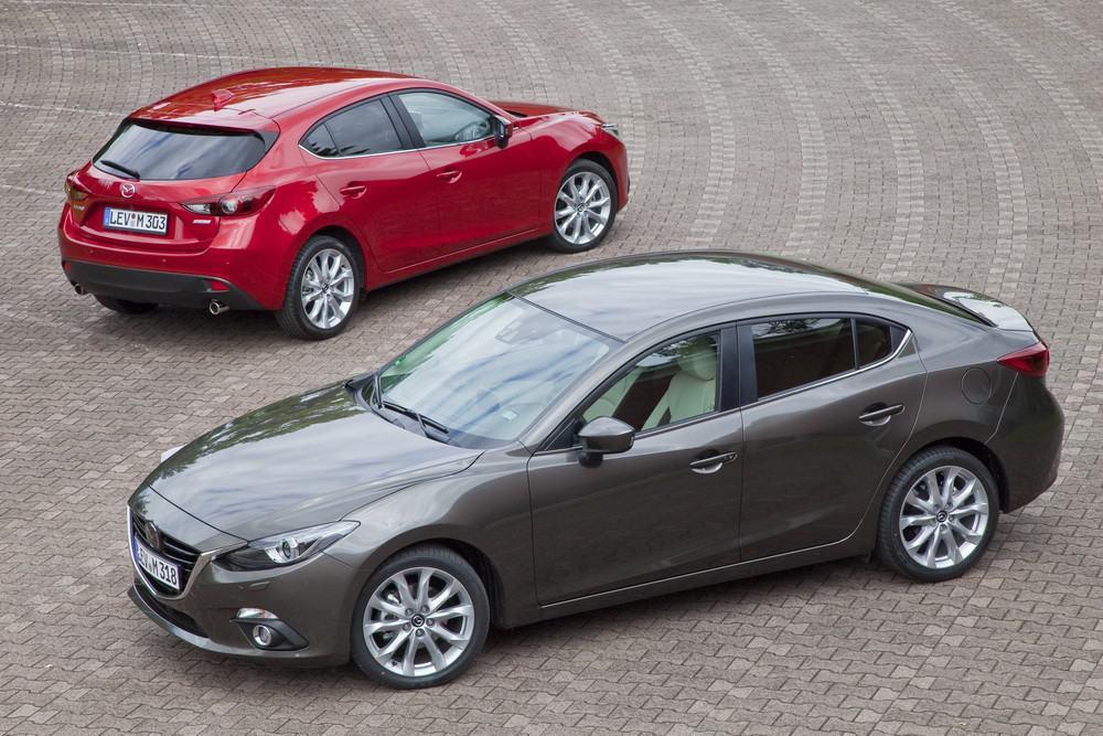 Mazda3 Sedan and Hatchback