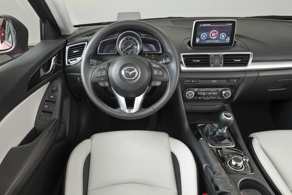 2014 Mazda3 Sedan interior