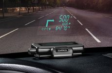 Garmin Head-Up Display navigation system