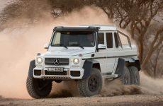 Mercedes 6x6 truck