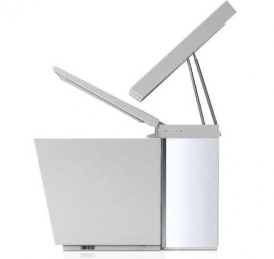 high tech toiler