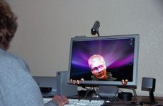 computer hacker man