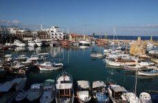 Cyprus marina with boats