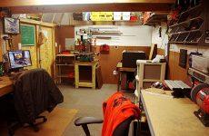 garage based workshop