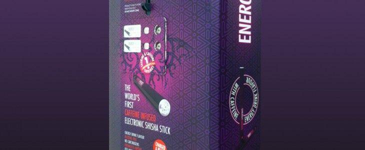 energy shisha with caffeine
