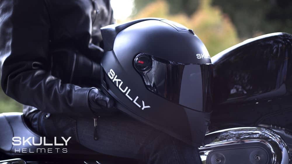 helmet with head-up display