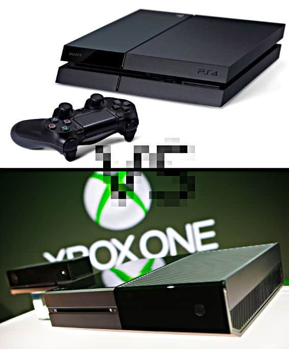 Console Wars: XBox One vs. PS4