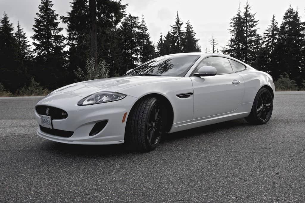 Delightful 2014 Jaguar XKR