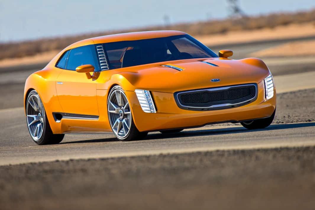 GT4 Stinger concept by Kia