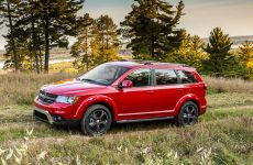 red dodge journey crossroad