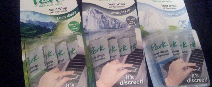 PERK air freshener for vents