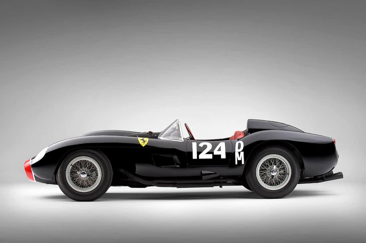 1957 Ferrari Testa Rossa side