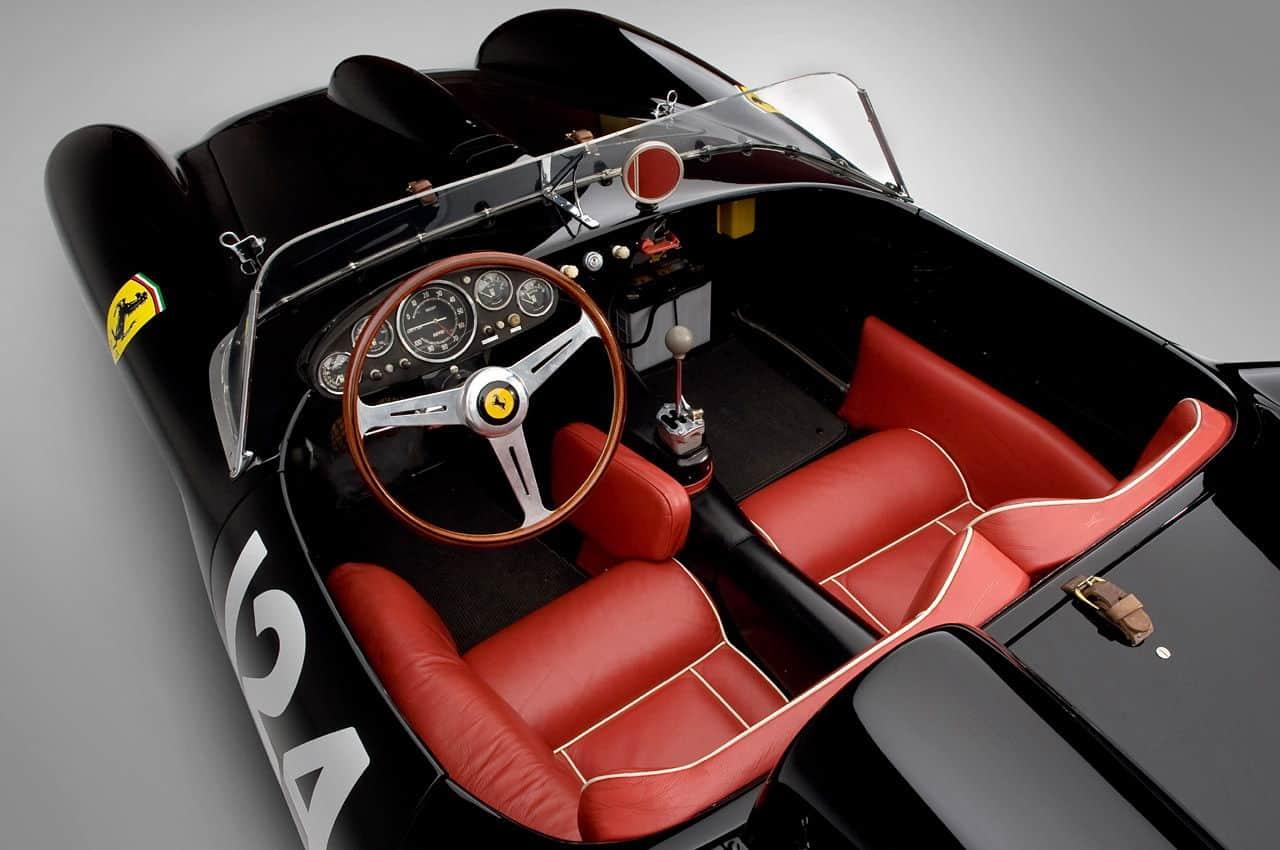 Ferrari 250 Testa Rossa interior