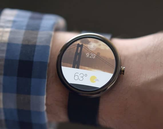 Google Android Wear smart watch