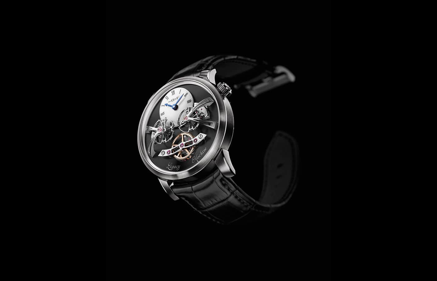 MB&F LM2 white gold