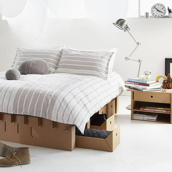 Paperpedic cardboard bed