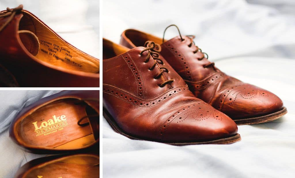 worn in dress shoes