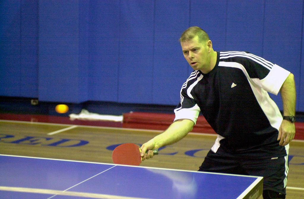 learning table tennis