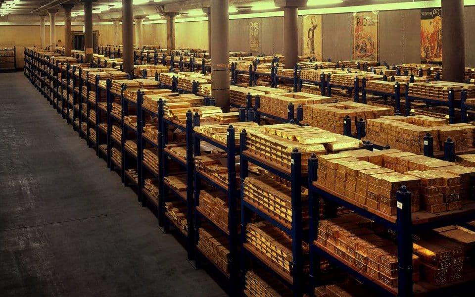 room full of gold