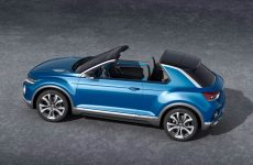 VW T-Roc targa top concept