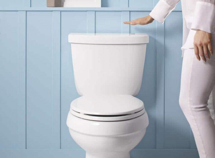 touchless toilet kit