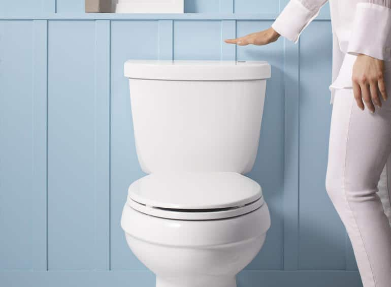 touchless toilet kit