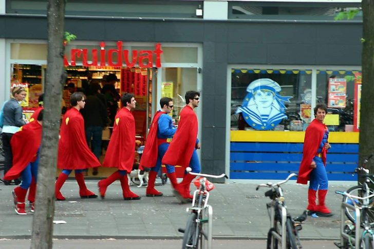 superman bachelor party