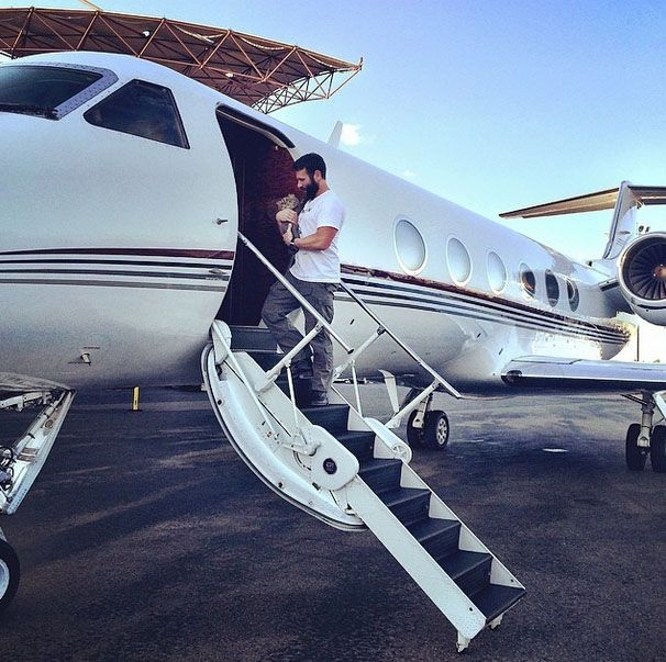 private jet to vegas