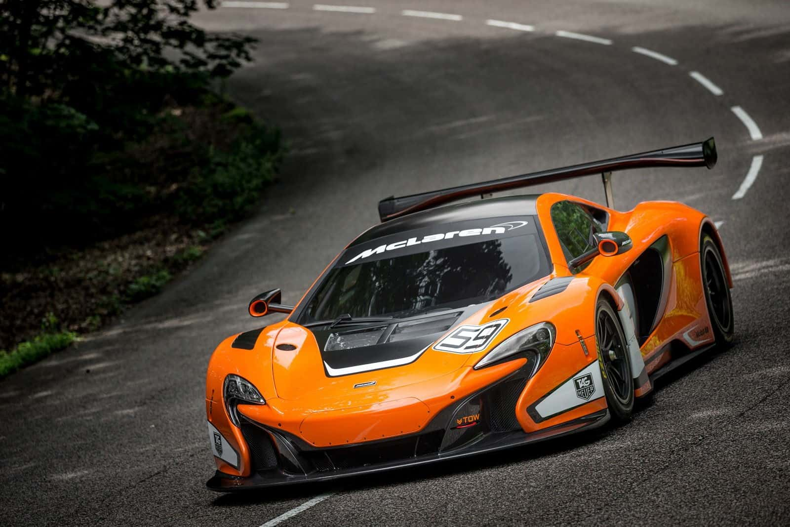 McLaren 650S GT3 Race Car - Unfinished Man
