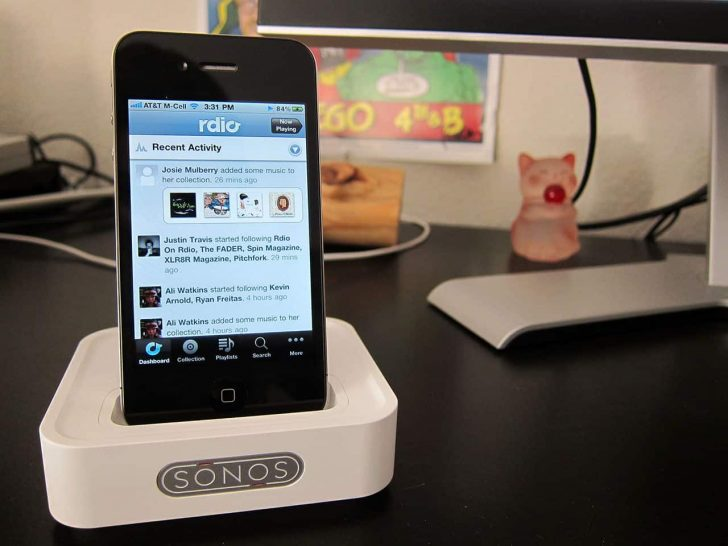 rdio on sonos sound dock