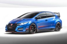 new Civic Type R concept vehicle