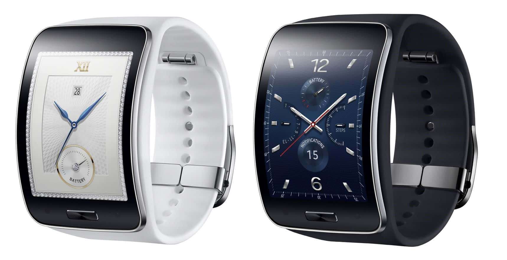 Samsung Galaxy S Smartwatch with Curved Screens ...