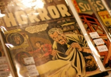 horror comic book