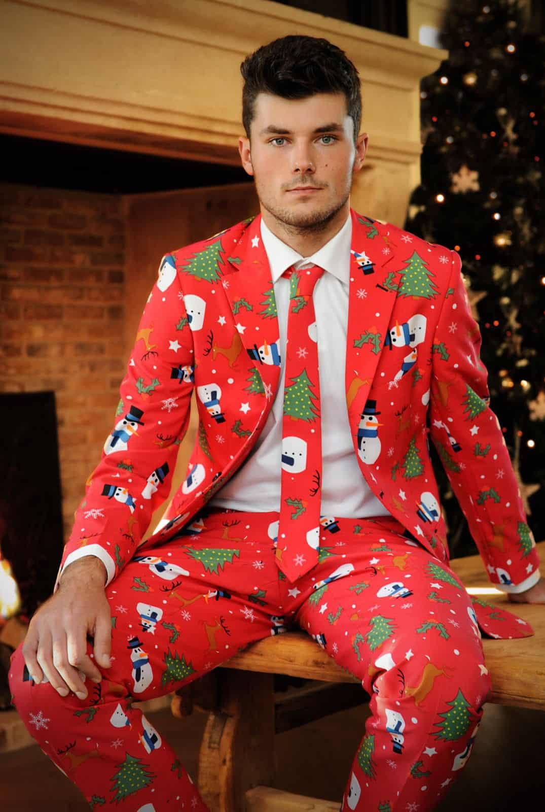 Christmas Sweater Suit.Suits Inspired By Ugly Christmas Sweaters Unfinished