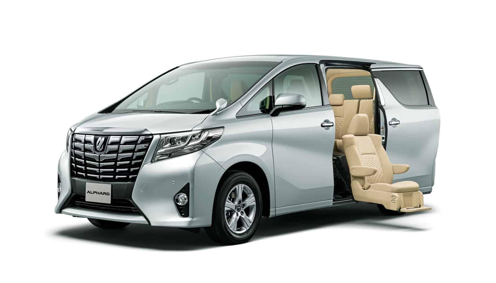 Toyota Alphard And Vellfire Minivan America Is Not Ready
