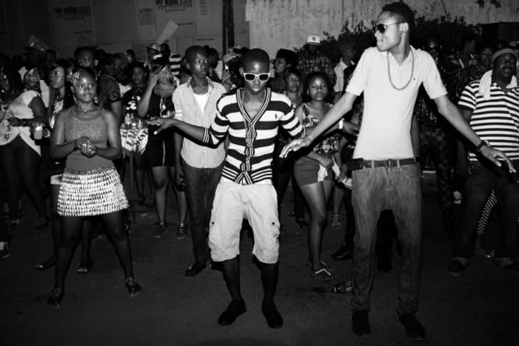 Jamaican dancehall party