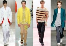 men being fashionable