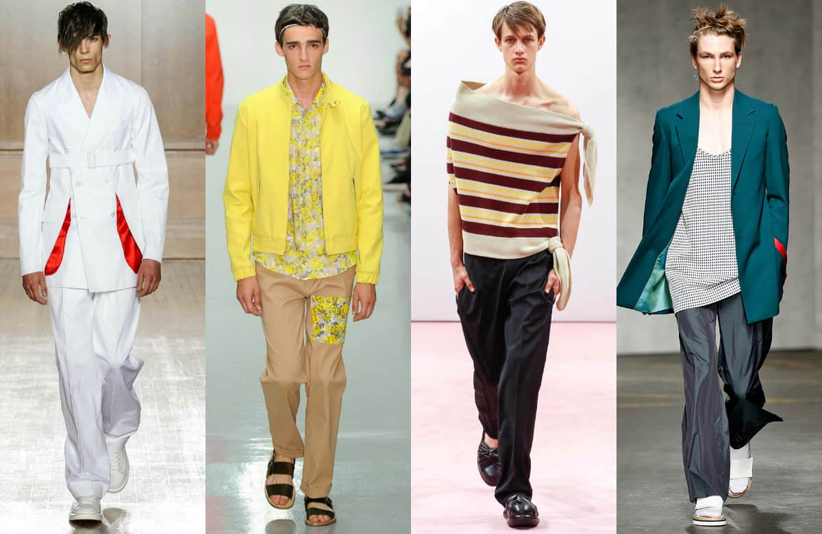 Men's Fashion Trends for Spring 2015